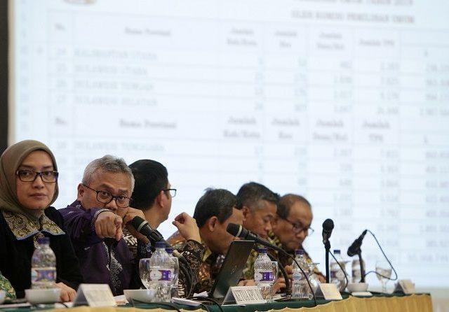 KPU akan Laporkan ke Bareskrim Pembuat Isu Server Didesain untuk Jokowi-Ma'ruf,  Di antaranya Pernah Menjadi Staf Jokowi