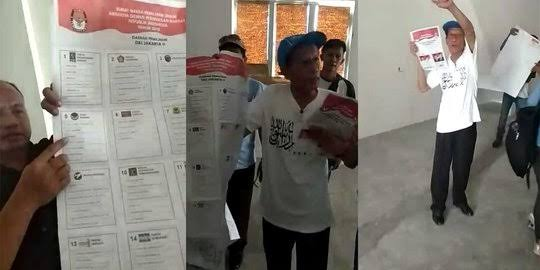 Puluhan Kantung Surat Suara Tercoblos 01, Jokowi Bilang Masalah Gak Jelas