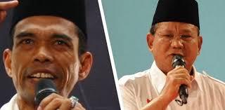 Dukungan UAS Ke Prabowo Rontokkan Suara Petahana Di Jatim