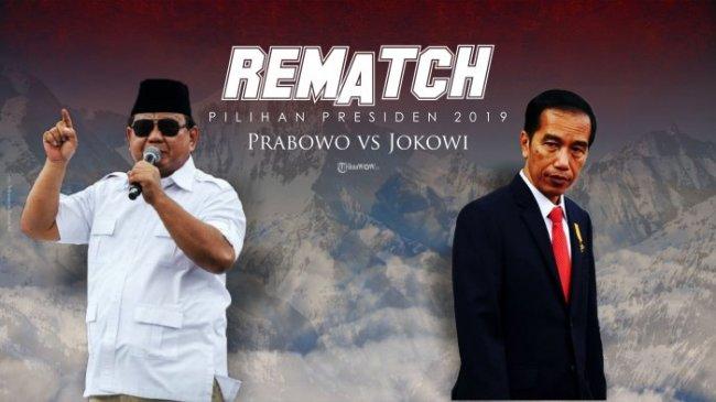"Survei : 01 dan 02 Sama-Sama Menang,  Jokowi ""Dimenangkan"" Lembaga Survei Dalam Negeri, Prabowo ""Dimenangkan"" Lembaga Survei Luar Negeri"