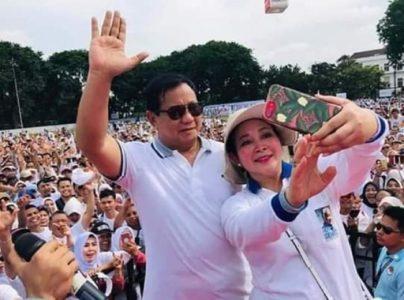Bila Terpilih Jadi Presiden, Prabowo-Titiek Soeharto akan Rujuk?