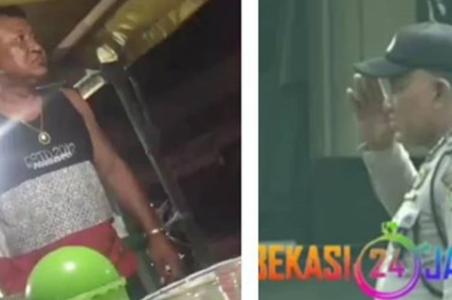 Viral Video Oknum Polisi Maki Pedagang Nasi Bebek Usai Ditagih Uang Teh Hangat Rp1000