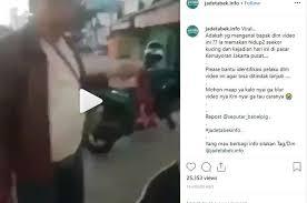Viral Video : BIADAB!  Pria Makan Kucing Hidup-Hidup di Kemayoran, Polisi Lakukan Penyelidikan