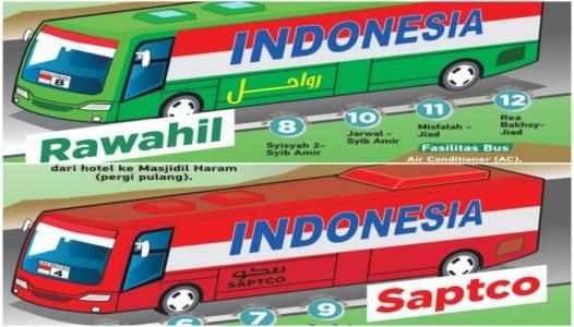 Tersedia di Sekitar Masjidil Haram, Ini Lokasi Tiga Terminal Bus Shalawat