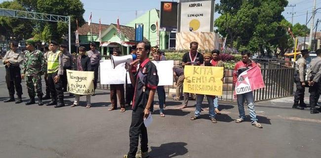 Aksi Solidaritas: Tengger Dan Papua Bersaudara