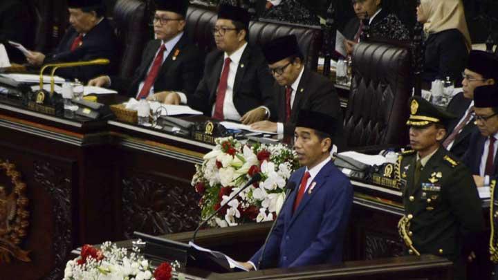 Jokowi Akan Pidato Tiga Kali di Sidang Tahunan 16 Agustus
