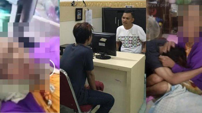 VIDEO VIRAL : Injak Kepala Ibu Kandungnya, Pemuda Surabaya Bersujud Minta Maaf