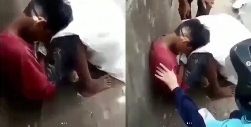 Sempat Viral, Video Bocah Pemulung yang Disangka Meninggal Di Pinggir Jalan