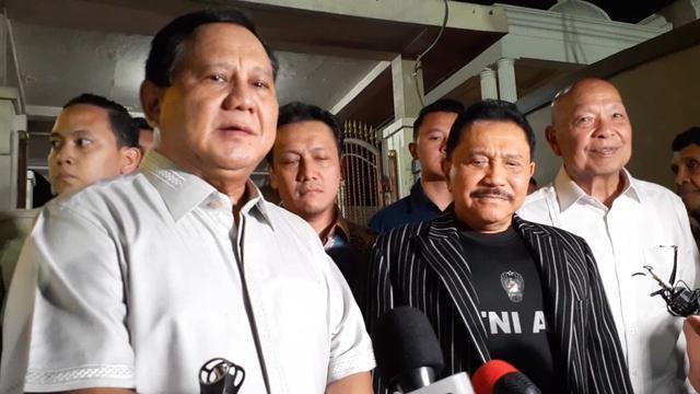 Bersama Hendropriyono, Prabowo Serukan Seluruh Bangsa Bersatu Jaga Papua