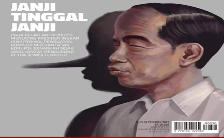 Warganet Ramai Bicarakan Jokowi-Pinokio
