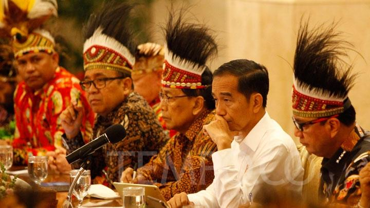 Jokowi Ingin Bangun Istana Negara di Papua