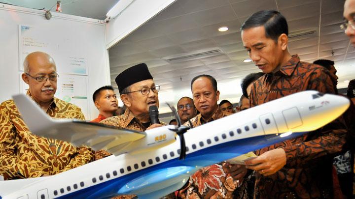 Habibie dan Pesawat Rancangannya N250 yang Dilarang Terbang