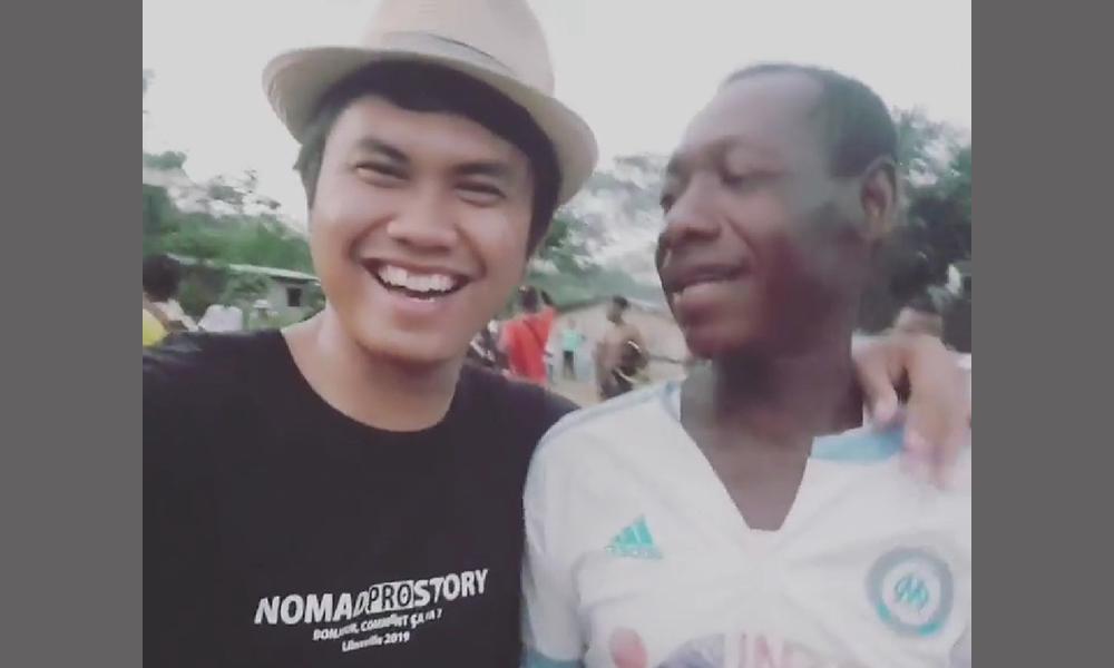 Maulana Rahman, Warga Banjarbaru yang Sukses Jadi Youtuber di Afrika