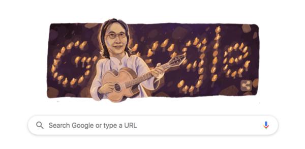 Google Doodle Chrisye Dibuat Seniman Yogyakarta