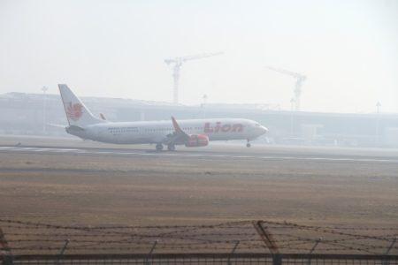 Kabut Asap Ganggu penerbangan di SAMS Sepinggan Sempat Lumpuh