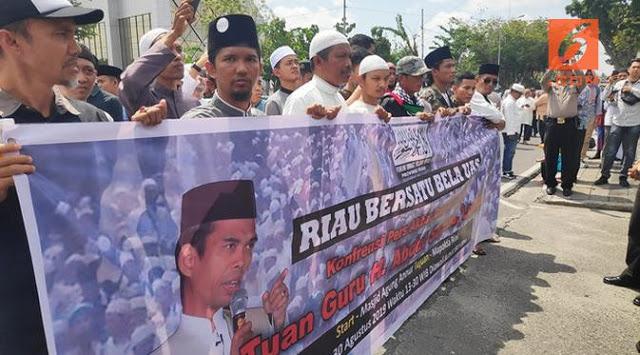 Brigade 08 Laporkan Penyebar Video Ustadz Abdul Somad Terkait Salib
