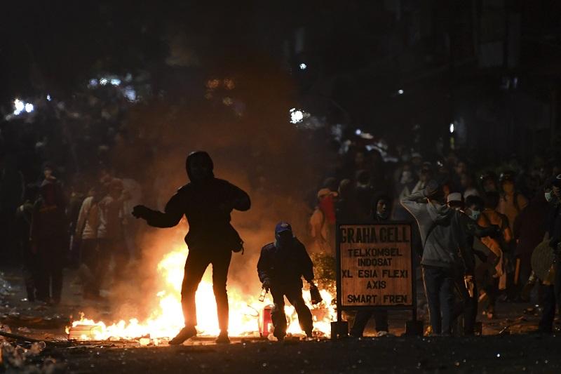 Demo Rusuh, Lebih dari 200 Pelajar STM Diringkus Polisi