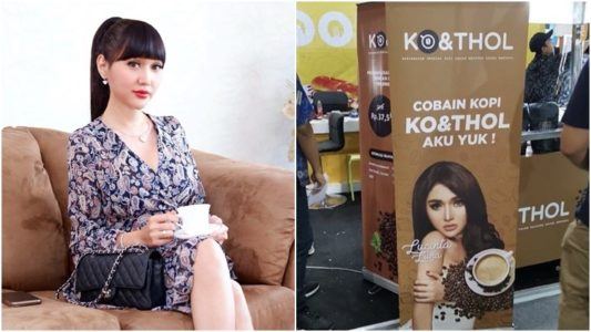 "Nama Bisnis Kopi Lucinta Luna Bikin Geger Warganet, "" Gak baik ngomongin kelamin sendiri buat nama kopi"""