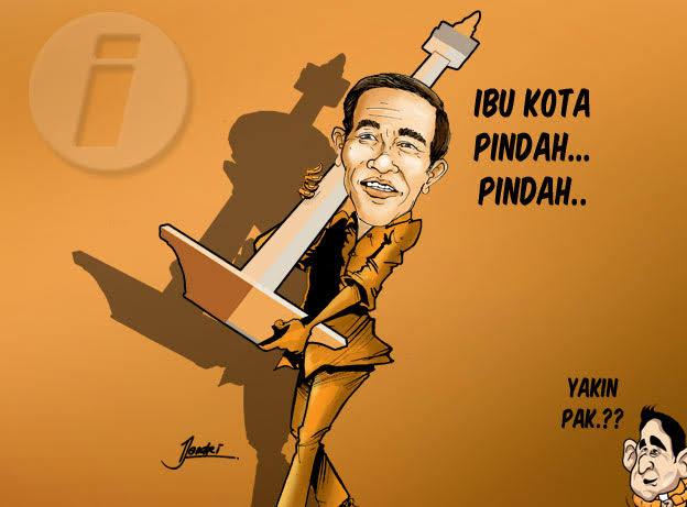 Biayai Proyek Ibu Kota Baru, Jokowi akan Jual Tanah Negara Ke Swasta