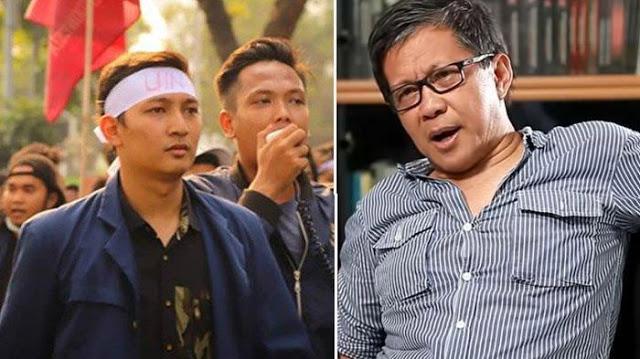 Pernyataan Wiranto soal Demo Disusupi Islam Radikal Dibantah Mahasiswa, Rocky Gerung : Menkopolhukam Norak