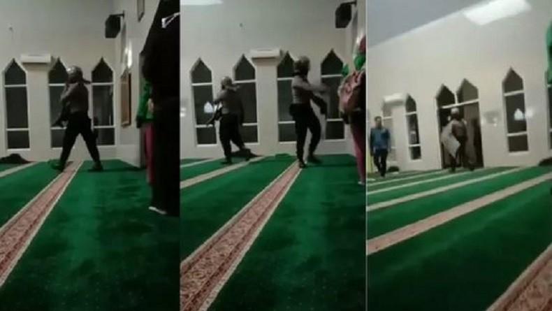 Viral Video Polisi Kejar Mahasiswa hingga ke Dalam Masjid