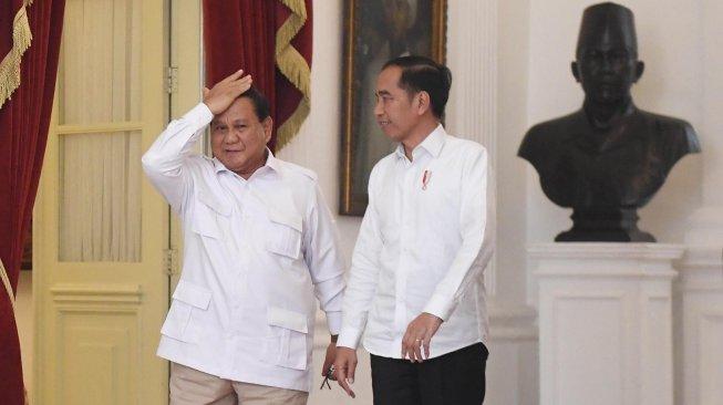 Jadi Pembantu Jokowi dalam Kabinet, Prabowo: Siap Bekerja Keras