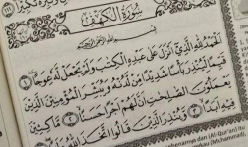 Anjuran Membaca Surat Al Kahfi di Hari Jumat, Ini Keutamaannya