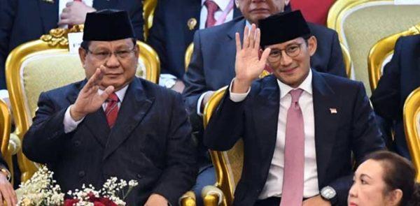Prabowo Disebut-Sebut Jadi Menhan, Begini Kata Sandiaga Uno