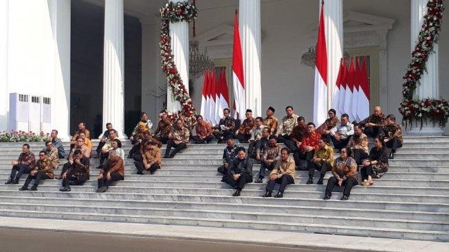 Daftar Lengkap Menteri Kabinet Indonesia Maju Jokowi II