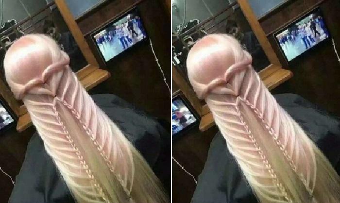 Viral di Media Sosial, Rambut Kepang Dikira Alat Kelamin