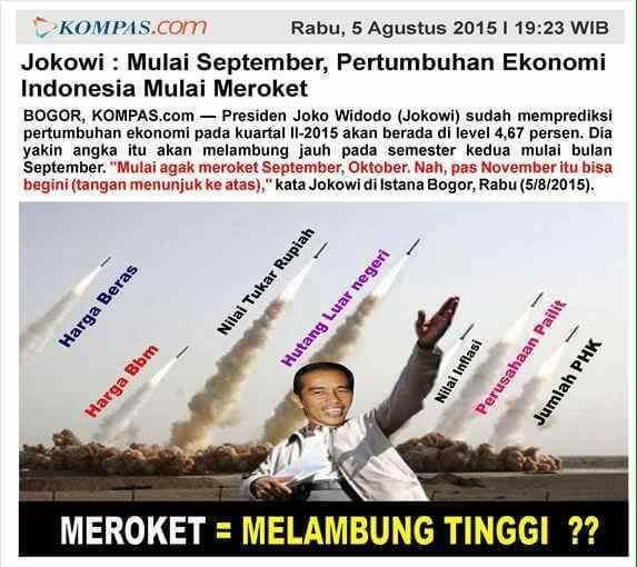 Bank Dunia Sebut Jokowinomics Jilid II Makin Gelap Akibat Utang dan Korupsi