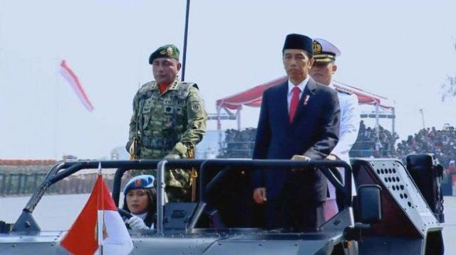 Jokowi Tidak Serius Bangun Kekuatan Pertahanan TNI