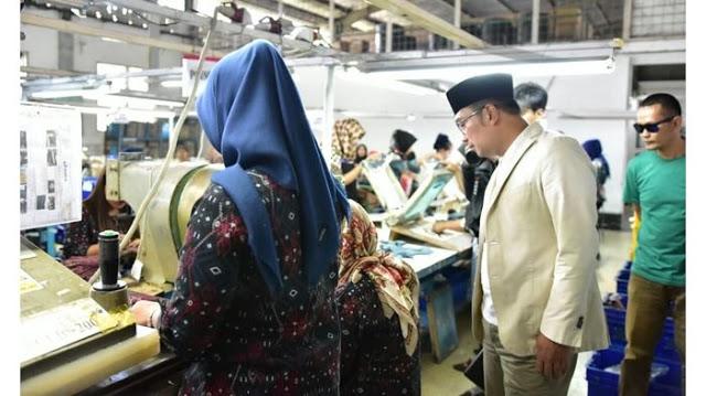 Waduh, 188 Perusahaan Tekstil di Jabar Bangkrut, 68 Ribu Buruh  di-PHK