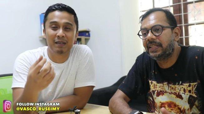 Haris Azhar dan Vasco Ruseimy membahas isu radikal (YouTube Macan Idealis)
