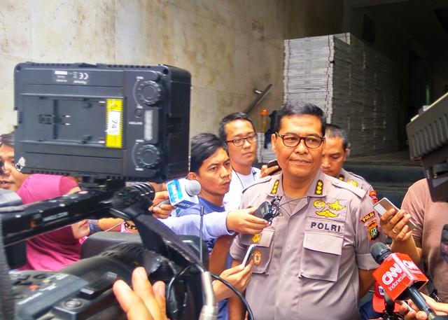 Kabid Humas Polda Metro Jaya, Kombes Raden Prabowo Argo (foto: Okezone)