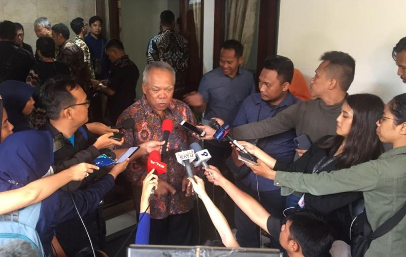 Menteri PUPR Basuki Hadimuljono (Foto: Okezone.com/Giri Hartomo)
