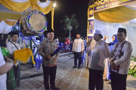 Laporan MTQ di Samarinda : Buka MTQ Samarinda Seberang, Wawali Pesan Generasi Milenial Harus Paham Ilmu Agama