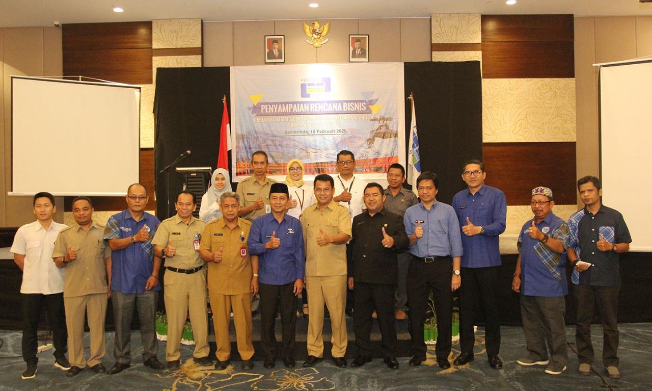 Walikota Syaharie Jaang Minta PDAM Usahakan Air Lancar dan Bersih