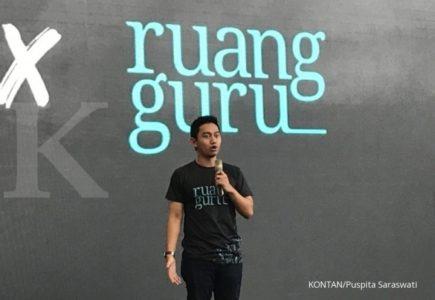 Belva Pemilik Induk Usaha Ruangguru di Singapura?