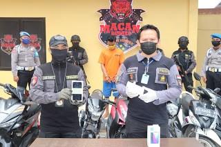 Satreskrim Polresta Samarinda Amankan Seorang Pelaku Kasus Penggelapan dan Pencurian