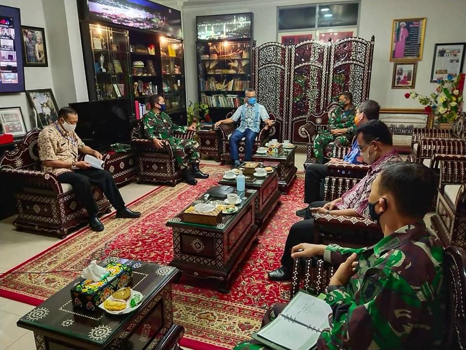 Walikota Samarinda Silaturahmi Dengan Danrem 091/ASN/foto ist/Akbar