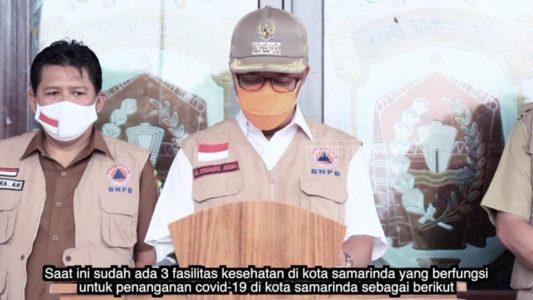 Di Samarinda, Pasien Positip Covid-19 Melonjak Naik, dari 19  Menjadi 25 Orang