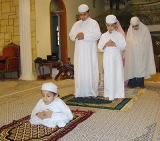 Tata Cara Sholat Idul Fitri