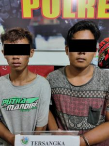 Sat Resnarkoba Polres Paser Berhasil Tangkap Dua Pelaku Narkoba di Paser Belengkong