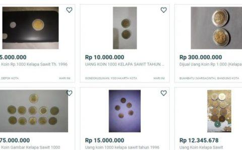 Viral Uang Koin Rp 1000 Gambar Kelapa Sawit Dijual Rp 300 Juta, Ini Kata BI