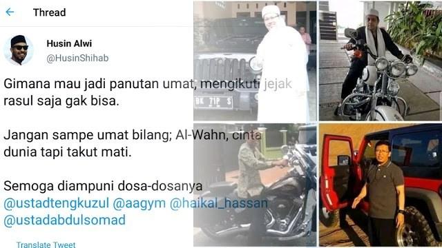 Caleg Gagal PSI Terus Serang Para Ulama yang Berseberangan dengan Rezim