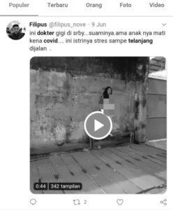 Viral Dokter Perempuan Tanpa Busana di Surabaya, Warga Malah Ramai Merekam Bukan Segera  Menutupi