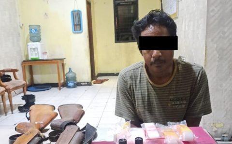 Polsek Kongbeng Tangkap Seorang Pelaku Penyalahgunaan Narkoba, Sabu Disembunyikan di Celana Dalam