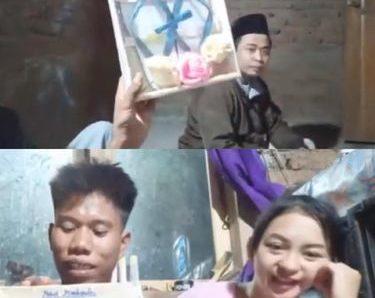 Viral Seorang Pria di Lombok Nikahi Model dengan Mahar Sandal Jepit