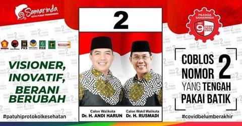 """Andi Harun – Rusmadi, Enggan Pakai Jas  dan Dasi Pilih Batik  ; """"Ingin Dekat dengan Rakyat """""""
